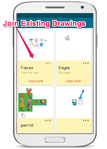join drawings