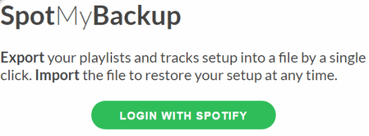 login with spotify