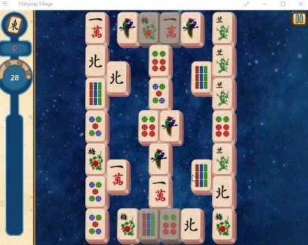 mahjong-village-game-board