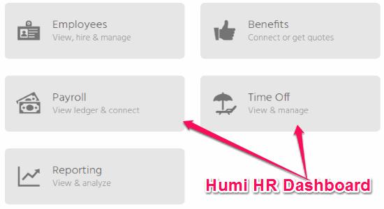 online hr application