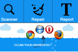 remove suspicious addons and toolbars to protect browsers