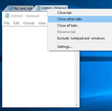 right click menu options