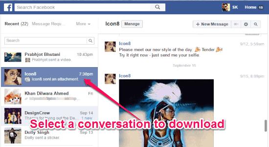select-a-conversation