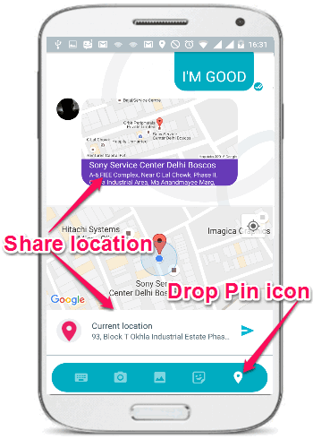 share-location