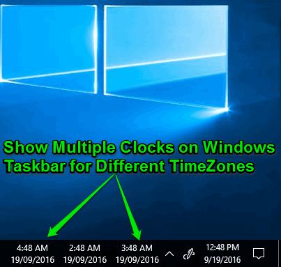 show-multiple-clocks-on-windows-taskbar
