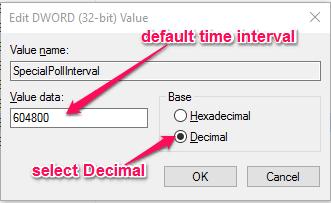 value editor