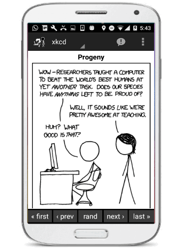 5 Best Free XKCD Comic Viewer Apps for Android