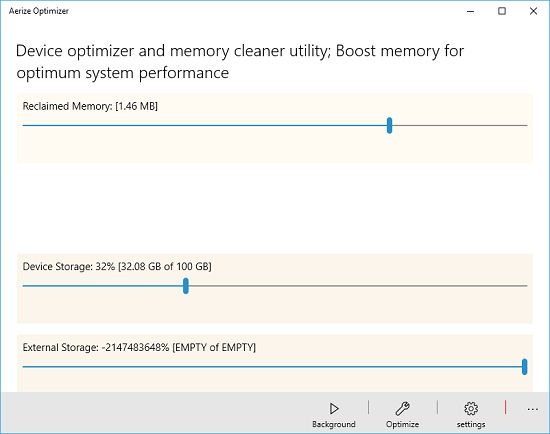 Windows 10 Memory Optimization Tool: Aerize Optimizer