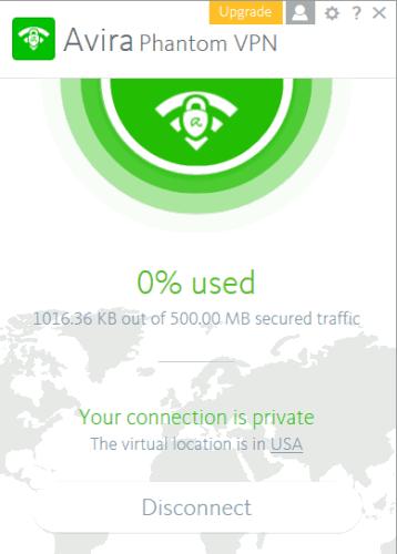 Avira Phatom VPN