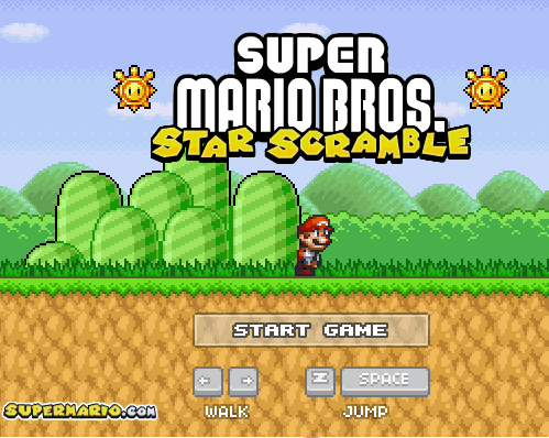 Play super mario on Facebook
