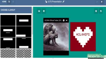 Presenter Club- online create presentations