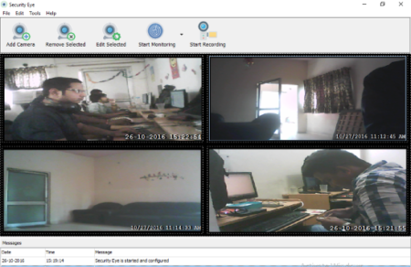 Free Video Recording and Surveillance Software for Windows