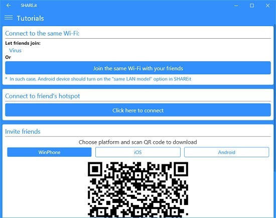 Shareit tutorial