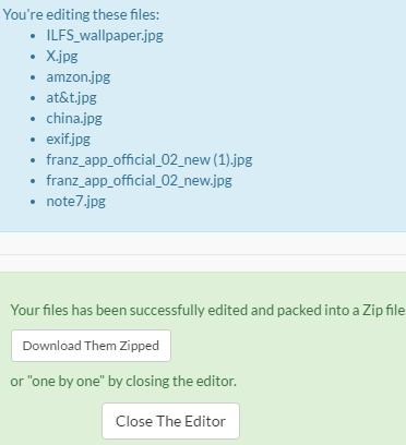 online exif metadata editor