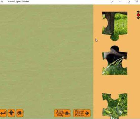 animal jigsaw puzzles board