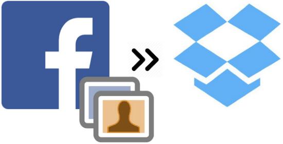 automatically save Facebook photos to Dropbox