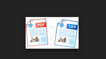 batch convert multipage PDF to multipage TIFF files