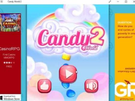 candy world 2 home