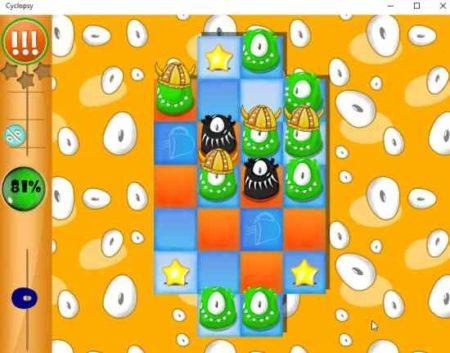 cyclopsy game board