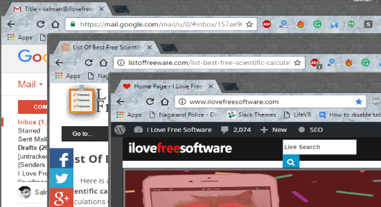 Disable Chrome Tabs, Open Links in New Window in Chrome