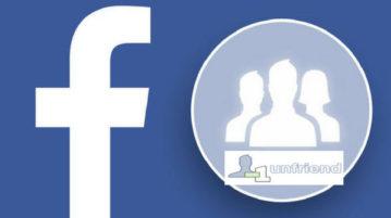 bulk unfriend Facebook friends