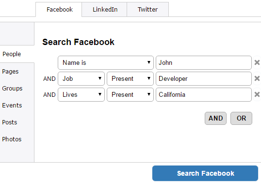 How To Search Facebook By Age, Gender, Location, Job