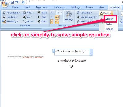 solve equation