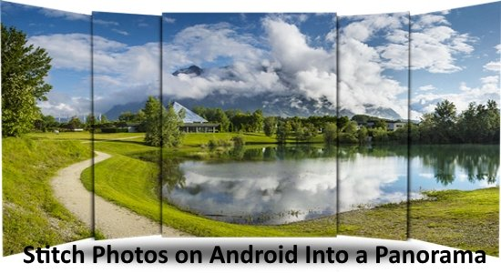 stitch photos on android