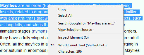 3 Free Character Counter Firefox Extensions: Character Counter