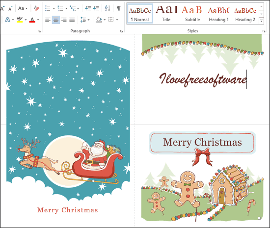 7 Free Websites to Download Christmas Card Templates for Word