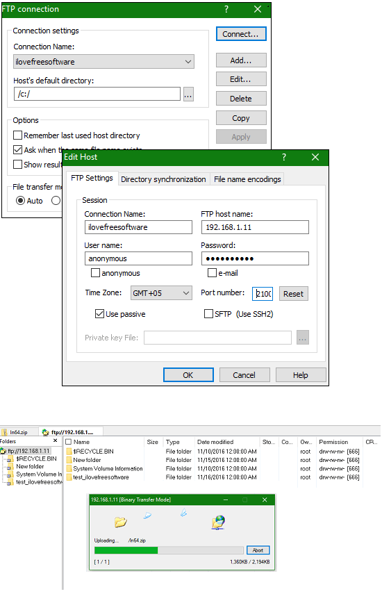 Explzh ftp inFree Software to Create Extract, Manage Archives for Windows