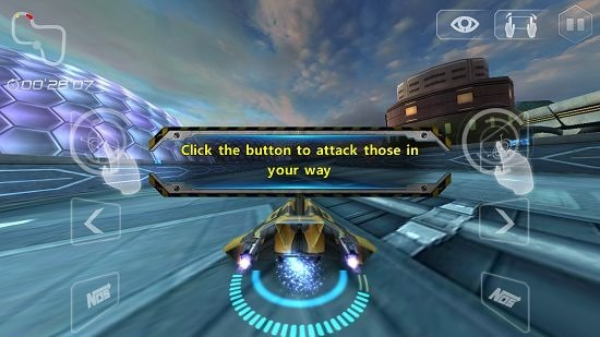 Space Racing 2 attack enemy