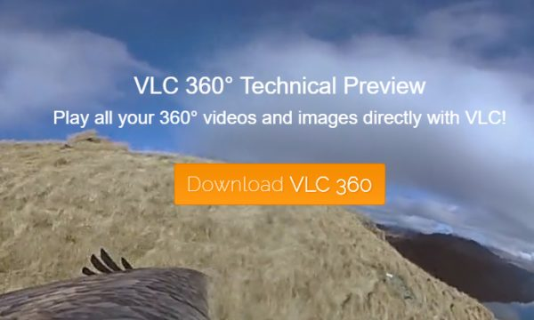 VLC 360 To Play 360° Videos and Photos with 3 Display Modes