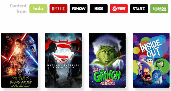 browse collections of netflixx