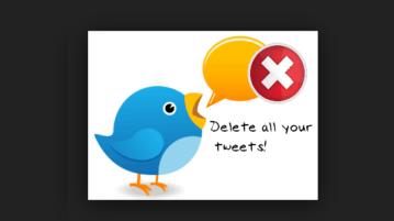 bulk delete all your tweets