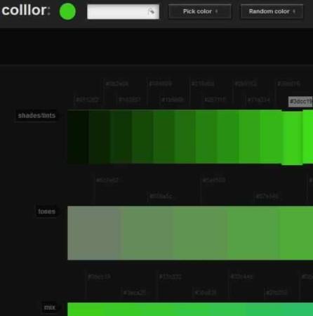 color scheme colllor