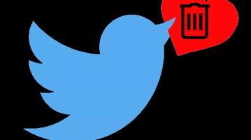 delete twitter likes in bulk
