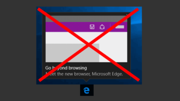 disable pop-up notifications of microsoft edge
