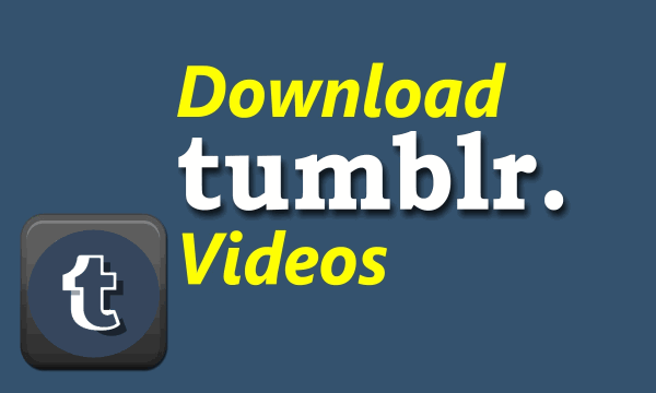 How to Download All Videos of a Tumblr Blog from Desktop