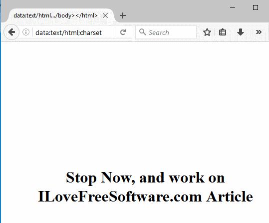 Block Facebook in Firefox