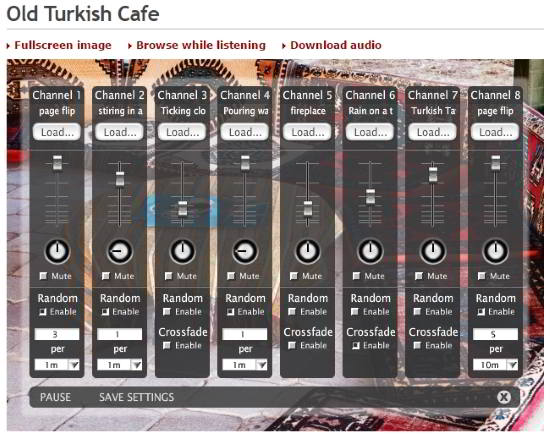 Old Turkish Cafe Sound