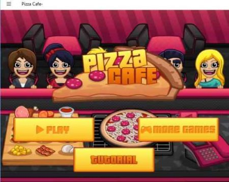 pizza cafe home