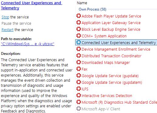 system service info