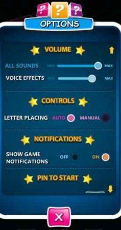 wordfix settings