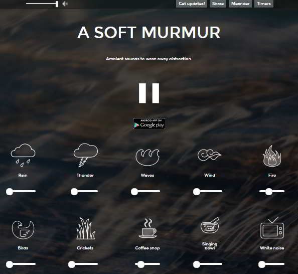 A Soft Murmur Homepage