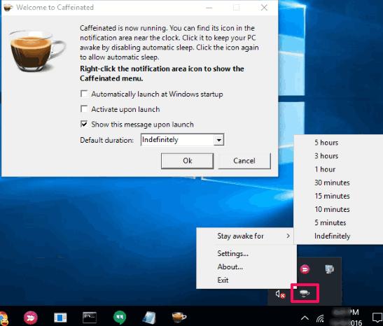 Caffeinated software