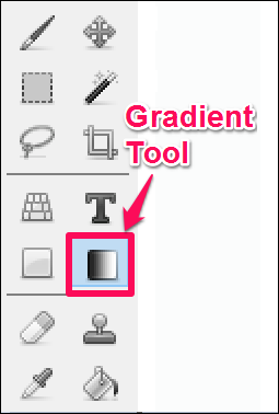 image editor to add gradient to photos