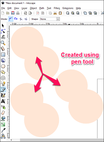 Inkscape- final output