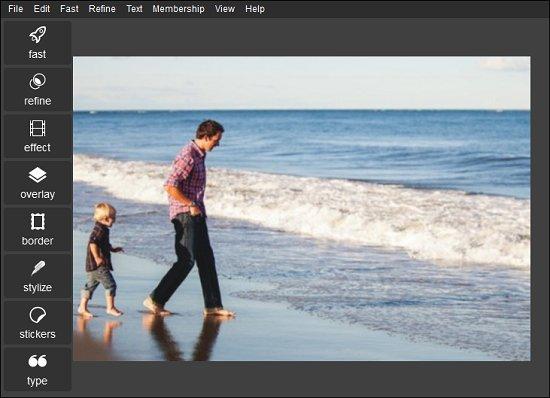 Picasa image tilt fixed