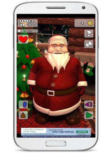 Talking Santa 2 free Android app